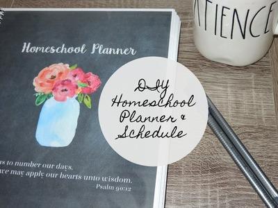 DIY Homeschool Planner and Schedule | Back To School Prep #5