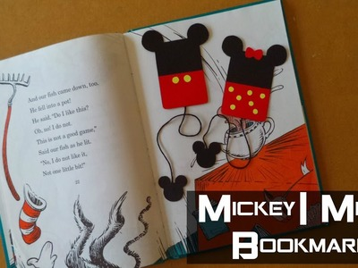 DIY: Mickey & Minnie Bookmarks | My Crafting World