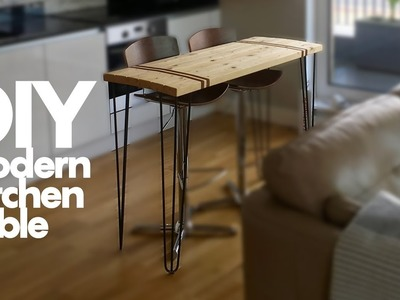 DIY Modern Kitchen Table (How to Woodwork) - SE Woodwork