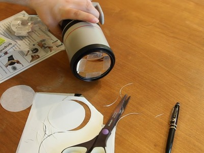 DIY Solar Eclipse Safety Filter for Canon 400mm Lens