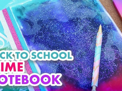 DIY Squishy Slime Notebook for Back to School