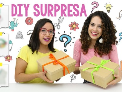 DIY SURPRESA: O QUE TEM NA CAIXA? ft. Craftingeek | Paula Stephânia