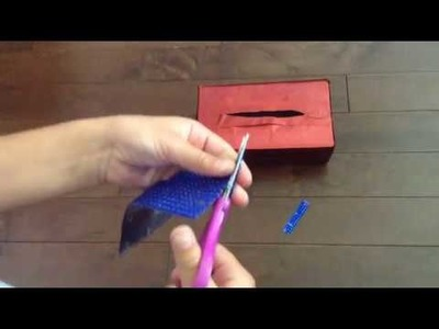 Easy DIY pencil case (no sew, no zipper, no fabric & no hot glue!)
