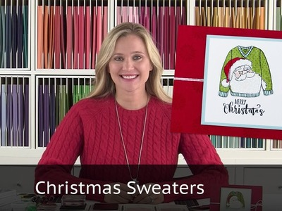 Five Christmas Sweater Cards for you!
