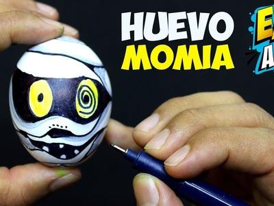 HALLOWEN Mummy Surprice EGG DIY - Como Dibujar una Momia - Coloring pages - Easy Art