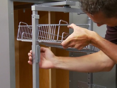 How to install a Pantry Pullout Cabinet Organizer