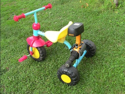 How to make mini electric Bike for KIDS.Homemade DIY