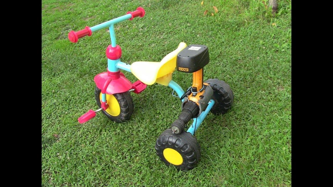 How to make mini electric Bike for KIDS.Homemade DIY