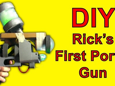 How To Make Rick's First Portal Gun (DIY)