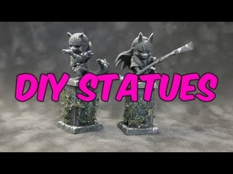 How to Paint Miniatures - DIY Statues