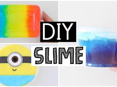 MAKING MY FAVORITE DIY SLIMES - 4 SATISFYING Slime Recipes!