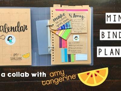 Mini Binder Planner for Amy Tangerine