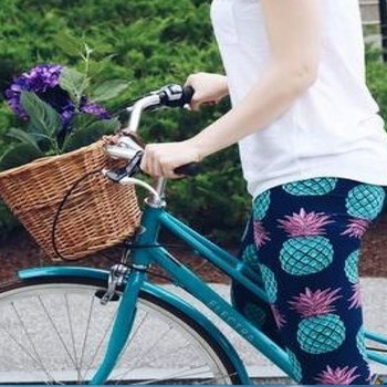 One Size Pineapple Leggings Buttery Soft