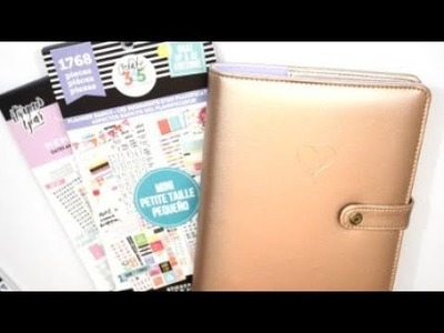 Plan With Me: September 18th- 24th | MIni Happy Planner and Mini Happy Planner Sticker Book