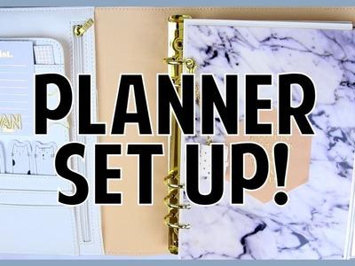 Planner Set Up