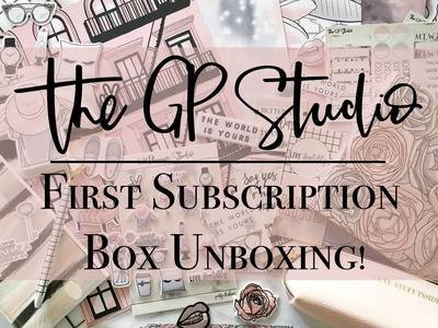 The GP Studio Planner Sub Box - Unboxing!