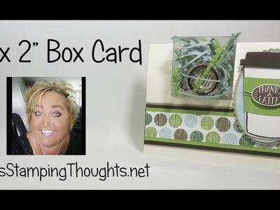 "2"" x 2"" Box Card"