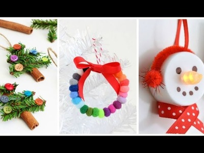 8 CHRISTMAS & WINTER DIY Projects [Simple crafts and ideas]