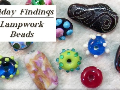 All About Lampwork Beads-How They are Made & How To Use Them-Firday Findings
