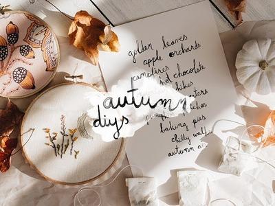 Autumn diys