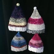 Beautiful handmade, lined Christmas stockings
