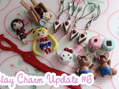 Clay Charm Update #6 - Sailor Moon, Kill La Kill and Cakes!