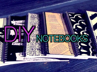 DIY Notebooks! Back to School with Brookie Cookie
