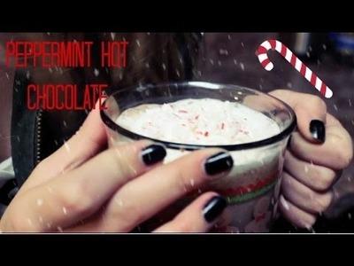 DIY: Peppermint Hot Chocolate