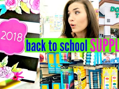 DOLLAR TREE SHOP WITH ME BACK TO SCHOOL SUPPLIES 2017 | Love Meg