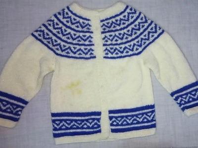Easy Designer Sweater For Kids|Hindi