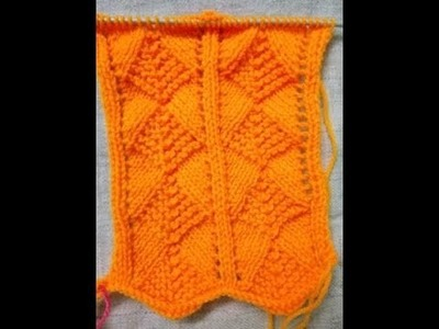 Easy Single Color Knitting Pattern No. 70