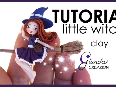 [ENG] Little Witch Tutorial - Polymer Clay - Halloween DIY