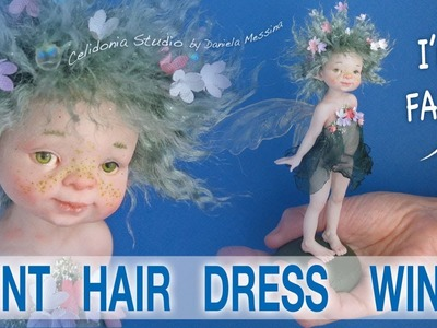 Fairy Doll Making - Paint, Hair, Dress, Wings