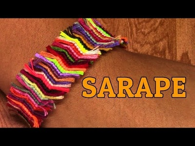 Friendship Bracelet: Sarape for Begginers- What to do with left over strings