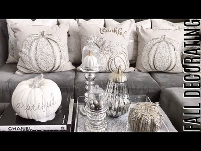 GLAM FALL DECORATING IDEAS! ????????