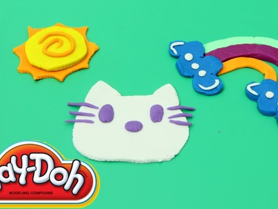 Hello Kitty made of Play Doh How to