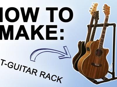 How to Make: $20 PVC Multi-Guitar Rack