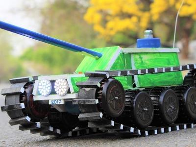 How To Make a Tank - Remote Control Tank - Tank Car