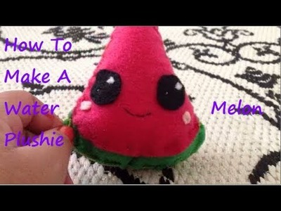 How To Make A Watermelon Plushie (◡‿◡✿)
