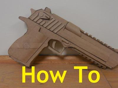 How to make my Cardboard Mark XIX Desert Eagle