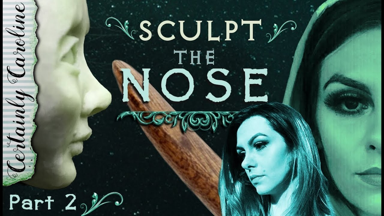 How to Sculpt the Nose, Doll Portrait Sculpting P2: How to Sculpt the Face Starting with the Nose