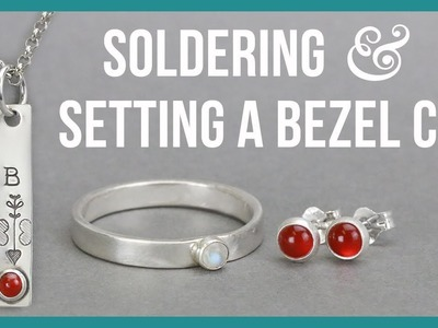 How to Solder and Set a Bezel Cup - Beaducation.com
