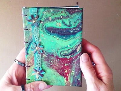 How To Use Your Acrylic Pour Canvases - A Brilliant Idea!