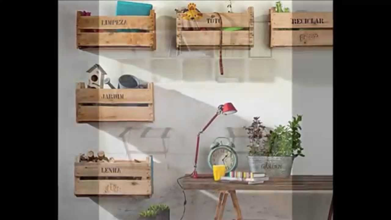 Ideas de estanterias con cajas de fruta ideas of furniture made from fruit boxes - Estanterias con cajas de fruta ...