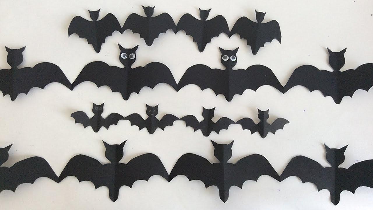 Ideas para halloween como hacer murcielagos - Murcielagos para halloween ...