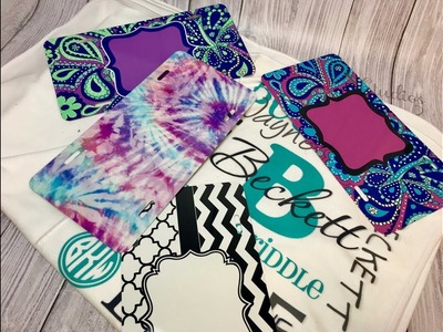 Intro to Sublimation, car tag.license plate and baby blankets, how to sublimate, what is sublimation