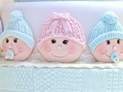 Karen Davies Sugarcraft Cake Decorating - Make Cute Baby Faces - Tutorial