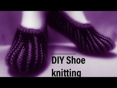 Knitting Shoe #02#(in Hindi)