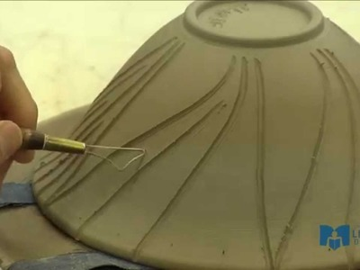 Learn To Make a Pottery Bowl: Part 4 Carving