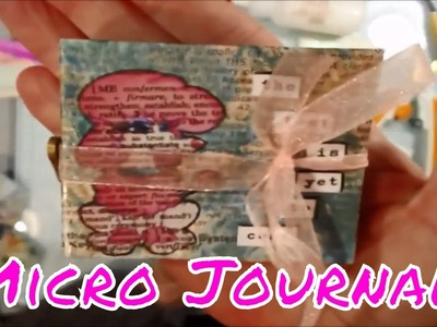 Micro Mini Journal Part 2 - Decorating and Pockets!